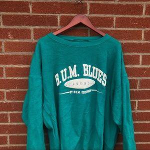 Vintage BUM Equipment prison fit sweater